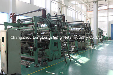 286 independent winding double needle-bar knitting machine