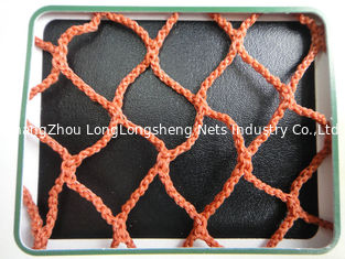 China Colored Selvage Sea HDPE Knotless Fishing Nets For Drag Net , Vertical Rope supplier