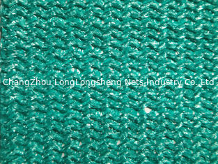 China Agricultural Sun Shade Net / Greenhouse Shade Netting , Green And Dark Green supplier