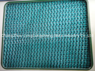 China Custom Dark Green Construction Safety Nets / Scaffolding Security Netting supplier