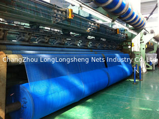China Blue Wrap Knitted Agricultural Netting Roll Windbreak Net , Uv Protection supplier