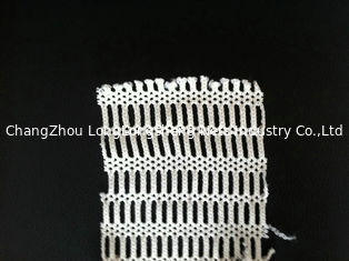 China Outdoor PET / NYLON Fabric Mesh Netting , Knitted White Mesh Clothing Shell Fabric supplier