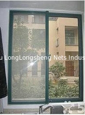China Square Garment 100% Polyester Mesh Fabric Mosquito Netting Curtains supplier