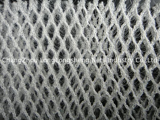 China 100 Polyester Stretch 3D Mesh Fabric For Cushion / Sport Shoes , Warp Knitted supplier