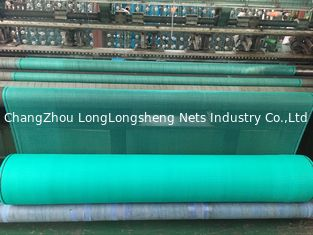 China Scaffolding Mesh Construction Safety Nets , HDPE Debris Safety Netting Green Colours supplier