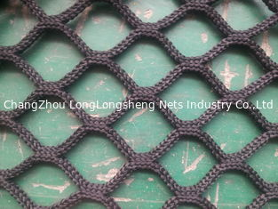 China Monofilament Fishing Nets With Single / Double Knots supplier