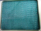 China Custom Dark Green Construction Safety Nets / Scaffolding Security Netting factory