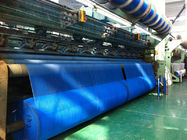 China Blue Wrap Knitted Agricultural Netting Roll Windbreak Net , Uv Protection company