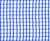 Blue Plastic Mesh Vertical Anti-Wind Net For Fruit / Plant Protective