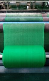 High Density Polyethylene / Propene Green Mosquito Net Mesh Fabric