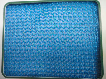 Blue / Black Scaffolding Safety Netting  Construction safety nets