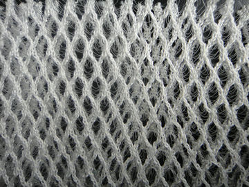 100 Polyester Stretch 3D Mesh Fabric For Cushion / Sport Shoes , Warp Knitted